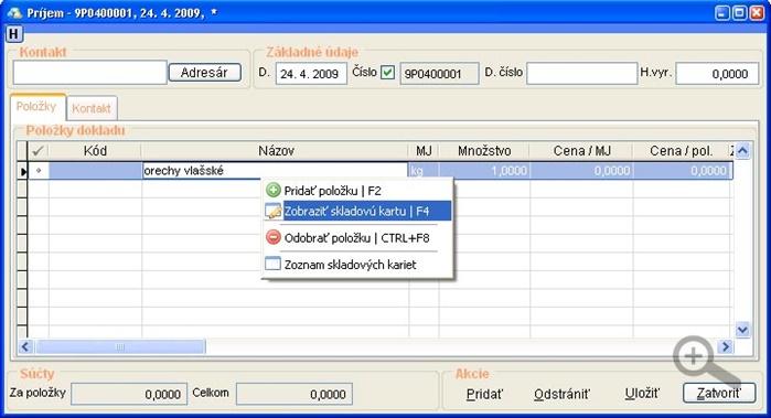 Prijemka_zobrazit_skladovu_kartu